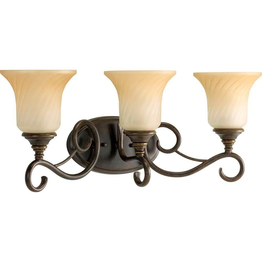 Kensington Collection Forged Bronze 3-light Wall Bracket