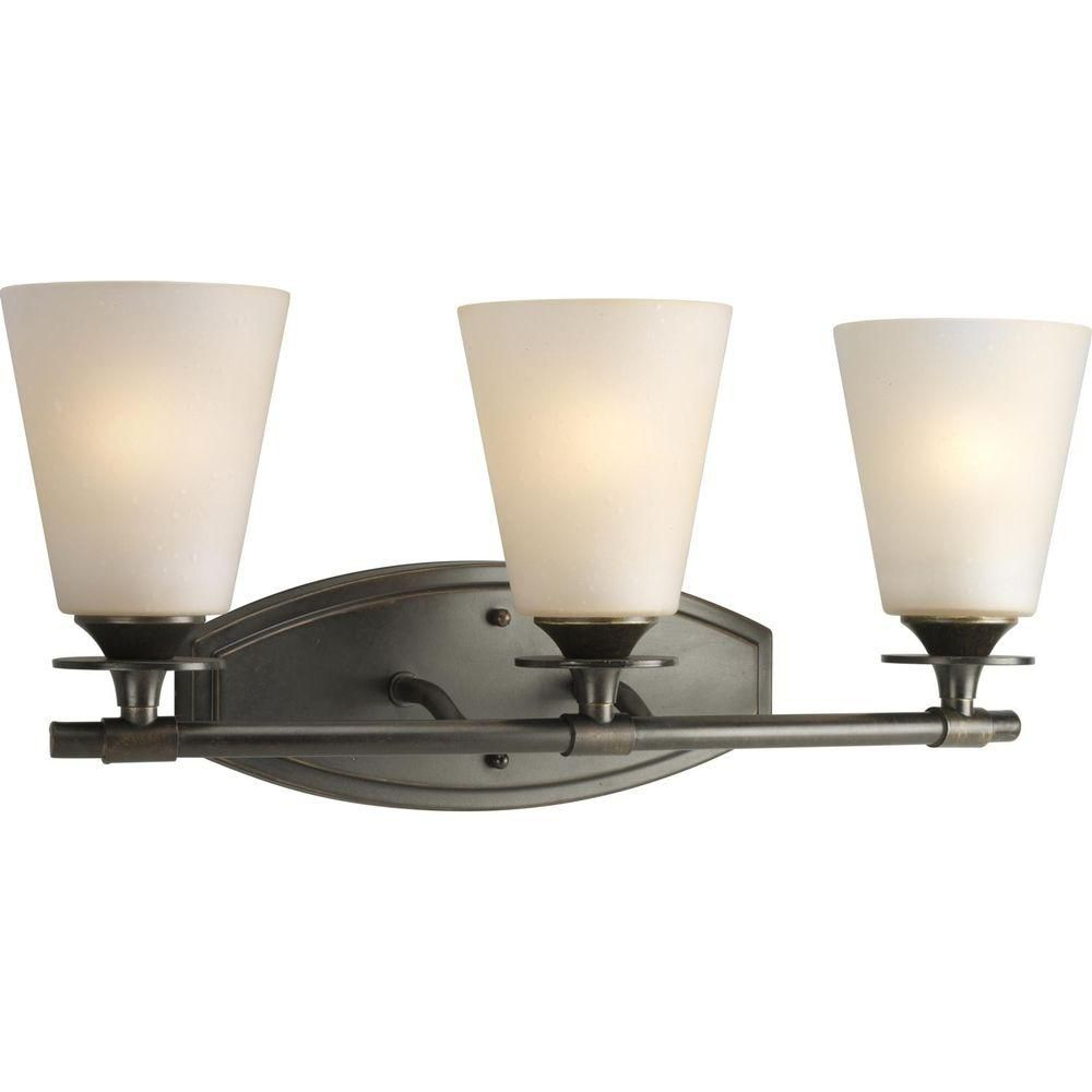 Cantata Collection Forged Bronze 3-light Wall Bracket