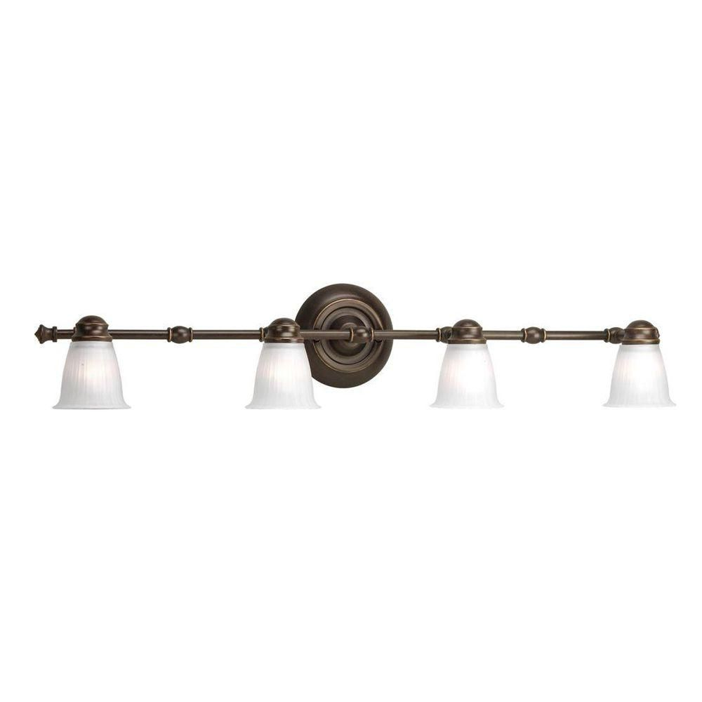 Renovations Collection Forged Bronze 4-light Spotlight Fixture