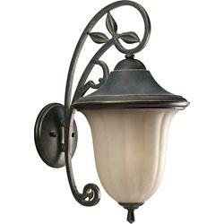Progress Lighting Le Jardin Collection Espresso 1-light Wall Lantern