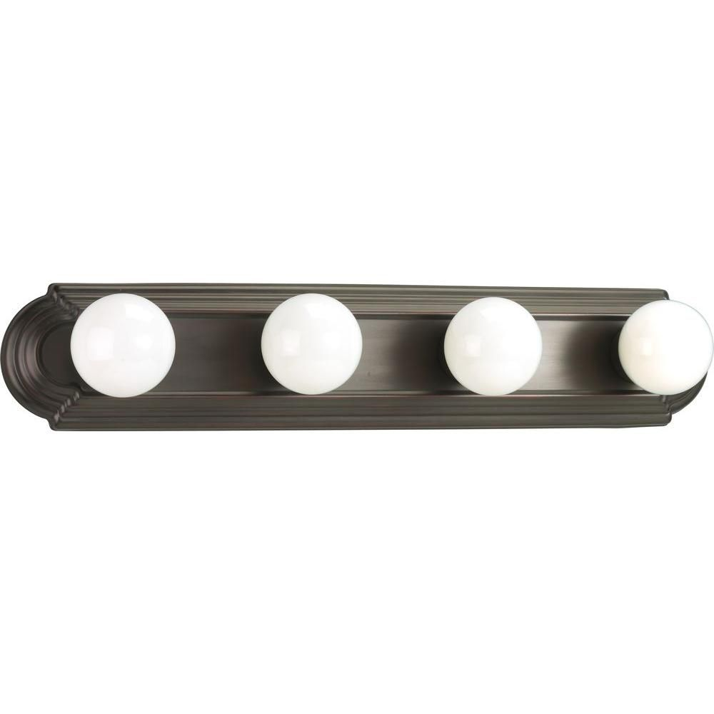 Antique Bronze 4-light Wall Bracket
