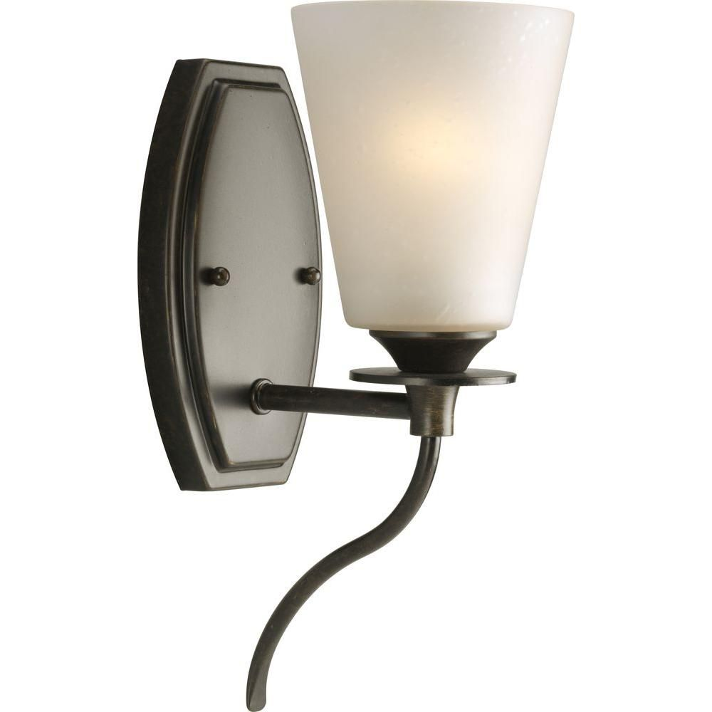 Cantata Collection Forged Bronze 1-light Wall Bracket