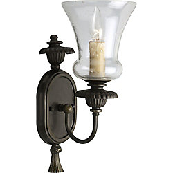 Progress Lighting Fiorentino Collection Forged Bronze 1-light Wall Sconce