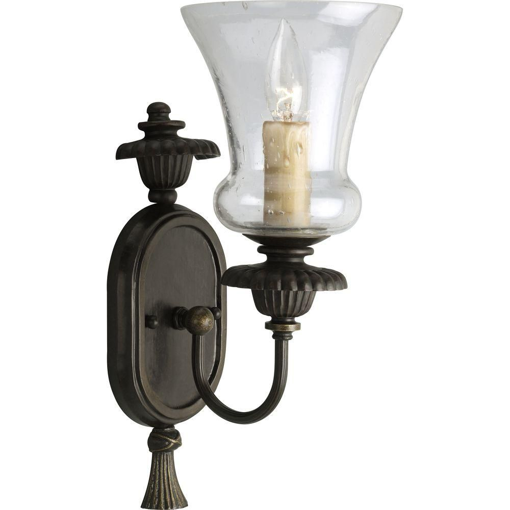 Fiorentino Collection Forged Bronze 1-light Wall Sconce