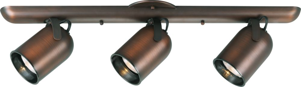 Urban Bronze 3-light Spotlight Fixture