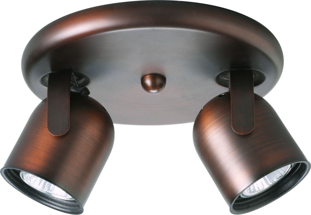 Urban Bronze 2-light Spotlight Fixture