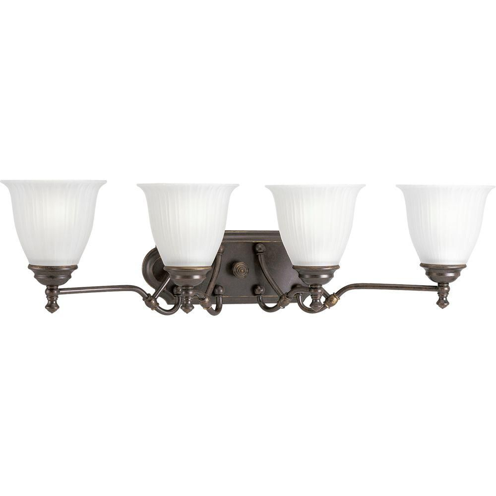 Renovations Collection Forged Bronze 4-light Wall Bracket