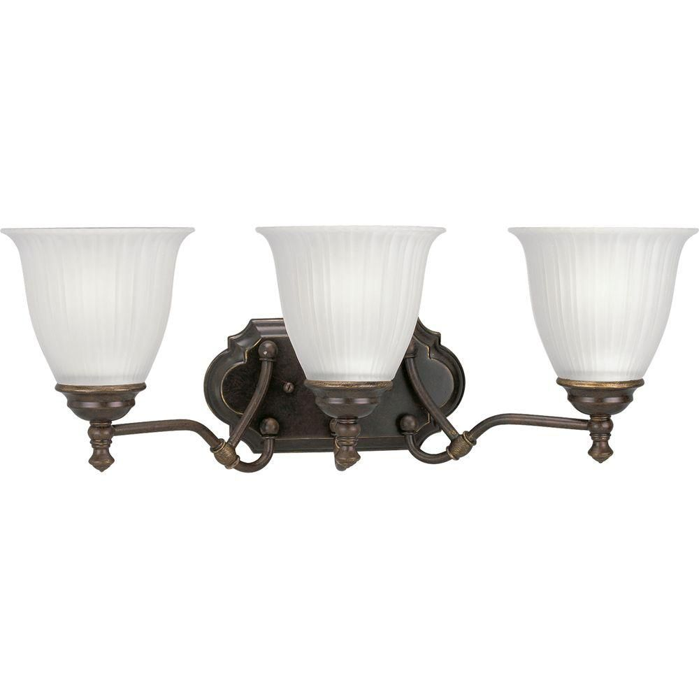 Renovations Collection Forged Bronze 3-light Wall Bracket