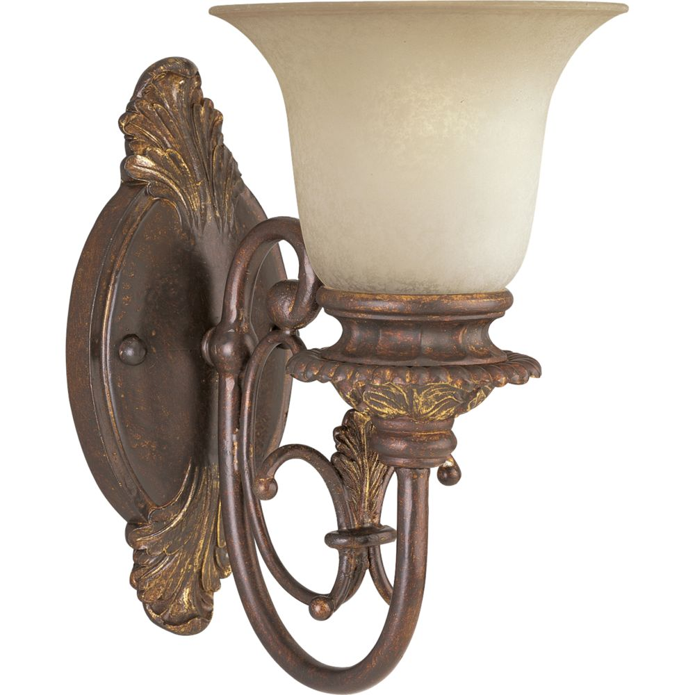 Messina Collection Aged Mahogany 1-light Wall Sconce