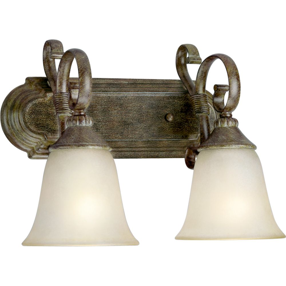 Maison Orleans Collection Fieldstone 2-light Wall Sconce
