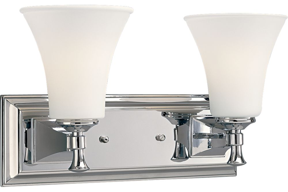Fairfield Collection Chrome 2-light Wall Bracket 7.85247E 11 in Canada