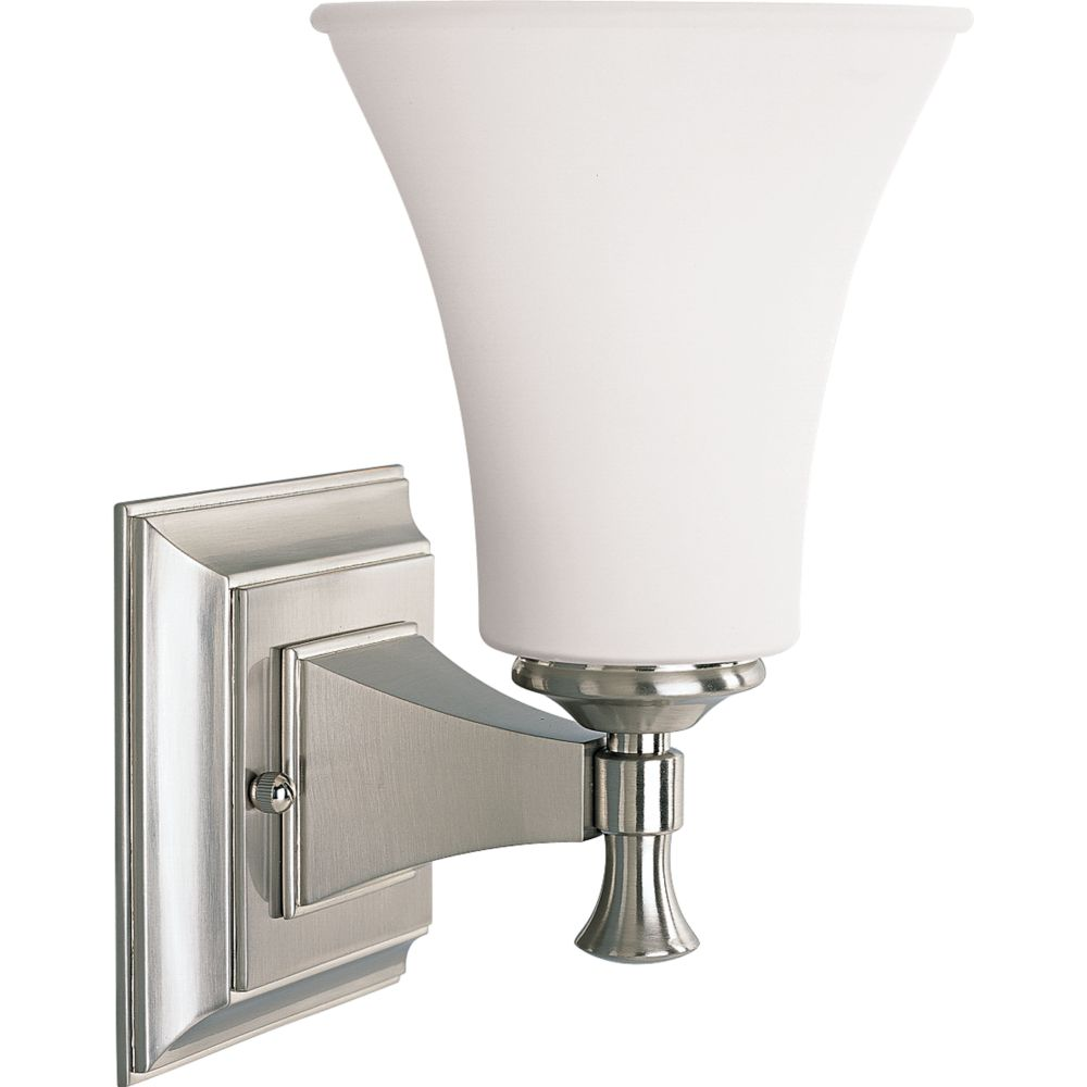 Fairfield Collection Brushed Nickel 1-light Wall Bracket