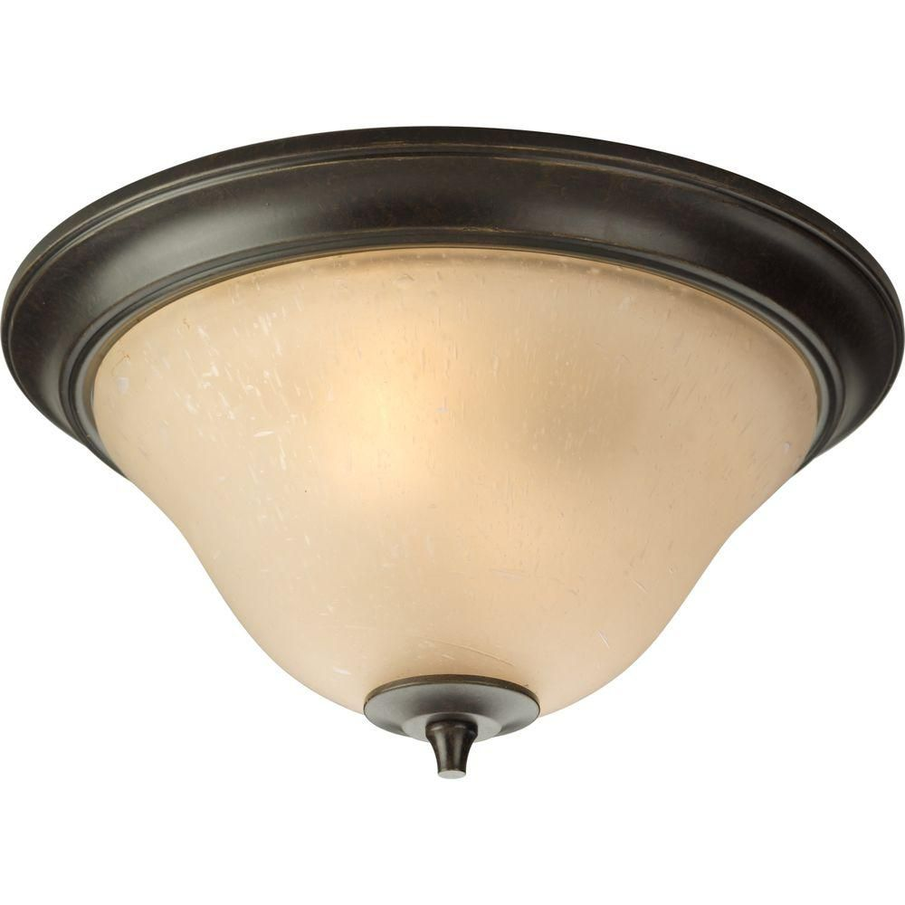 Cantata Collection Forged Bronze 2-light Flushmount