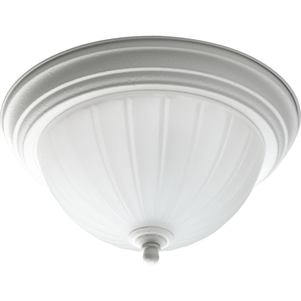 White 1-light Flushmount 7.85247E 11 in Canada