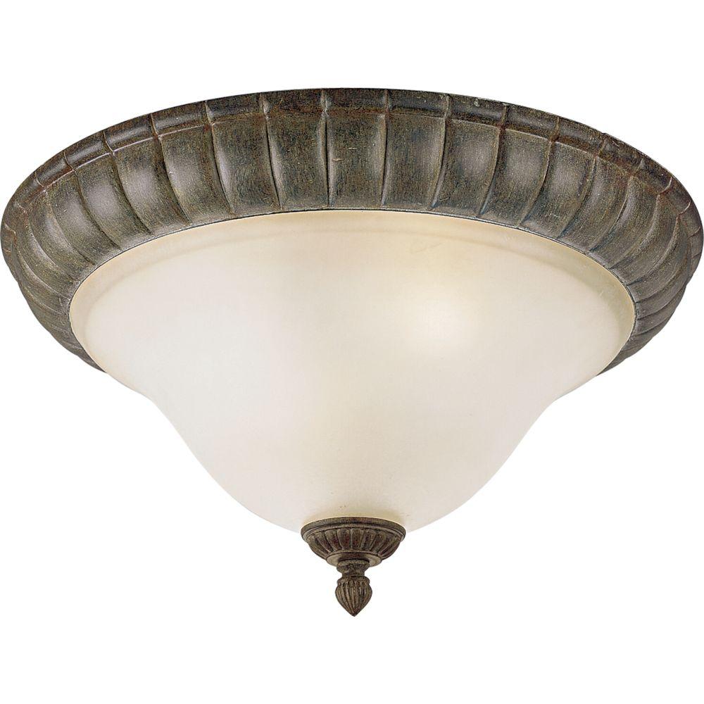 Maison Orleans Collection Fieldstone 2-light Flushmount