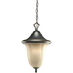 Progress Lighting Lanterne suspendue à 1 Lumière, Collection Le Jardin - fini Espresso
