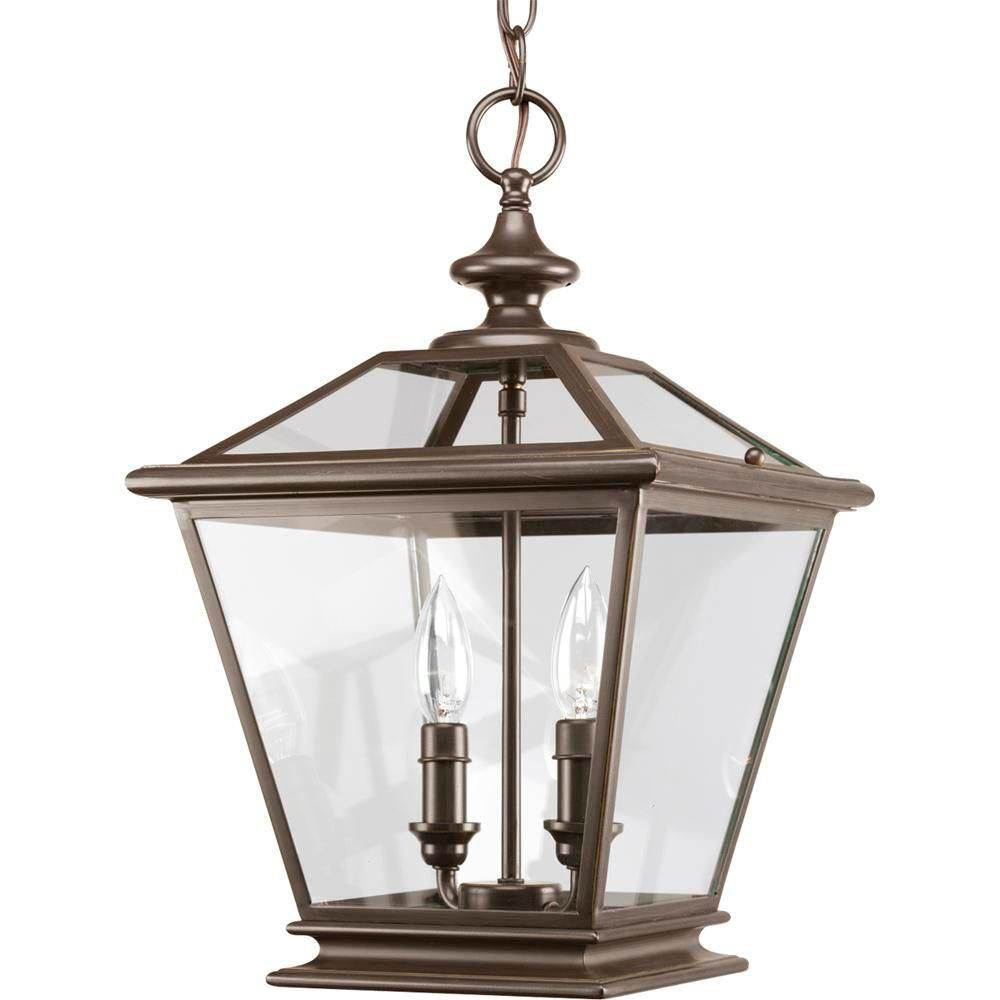 Vintage Foyer Lighting : Progress lighting crestwood collection antique bronze