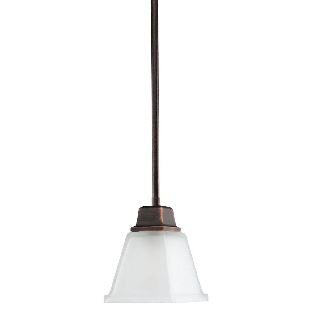 North Park Collection Venetian Bronze 1-light Mini-Pendant