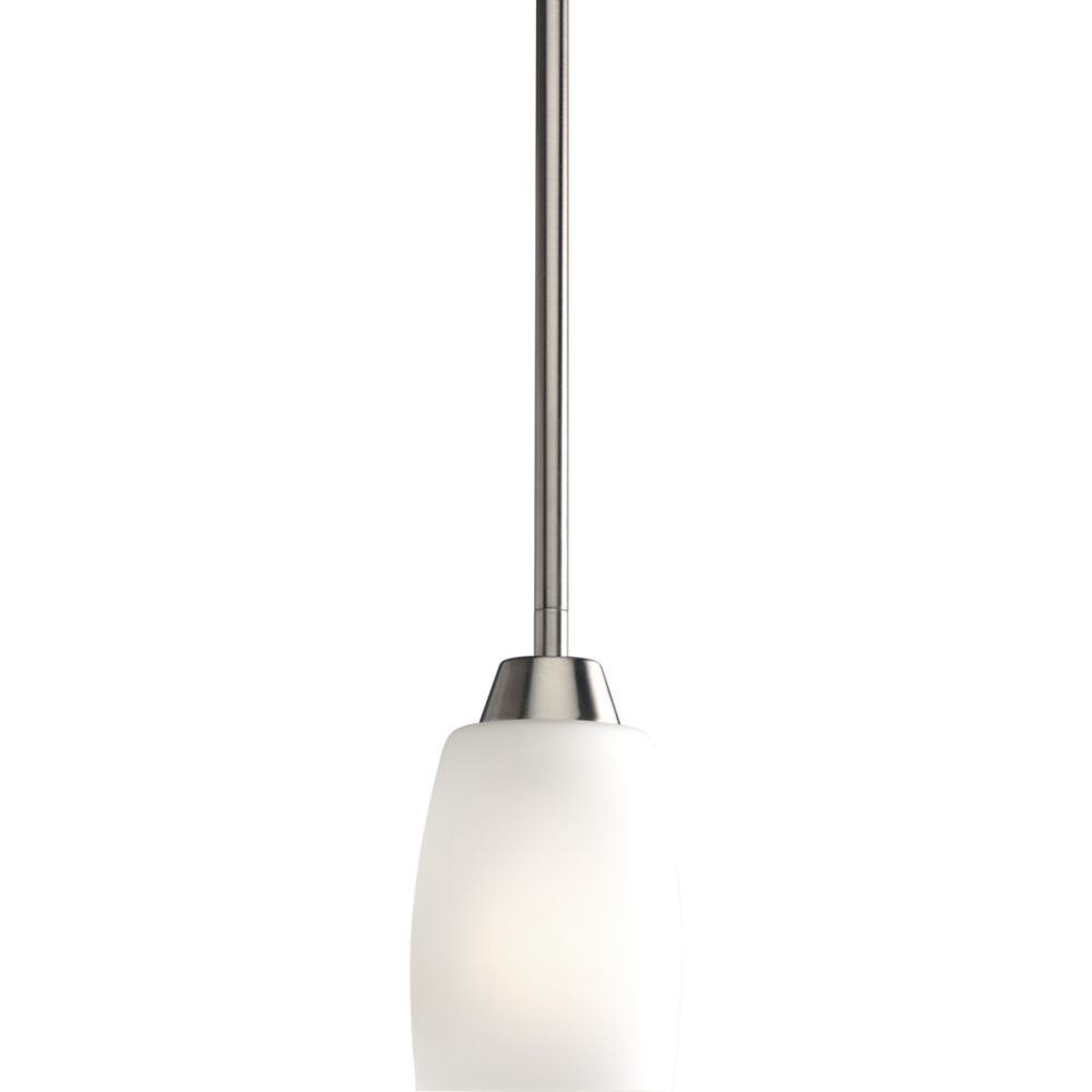 Wisten Collection Brushed Nickel 1-light Mini-Pendant