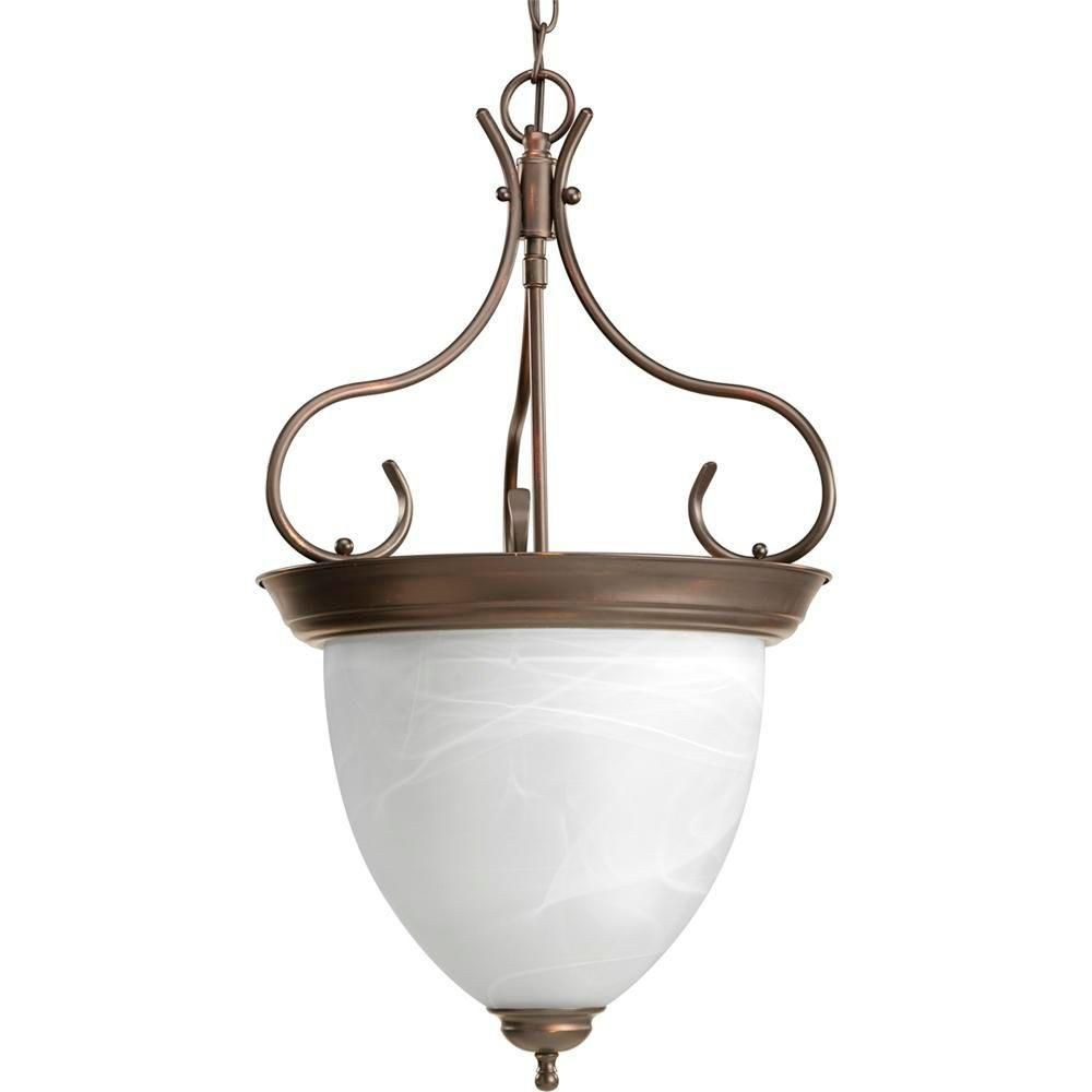 Antique Bronze 4-light Foyer Pendant
