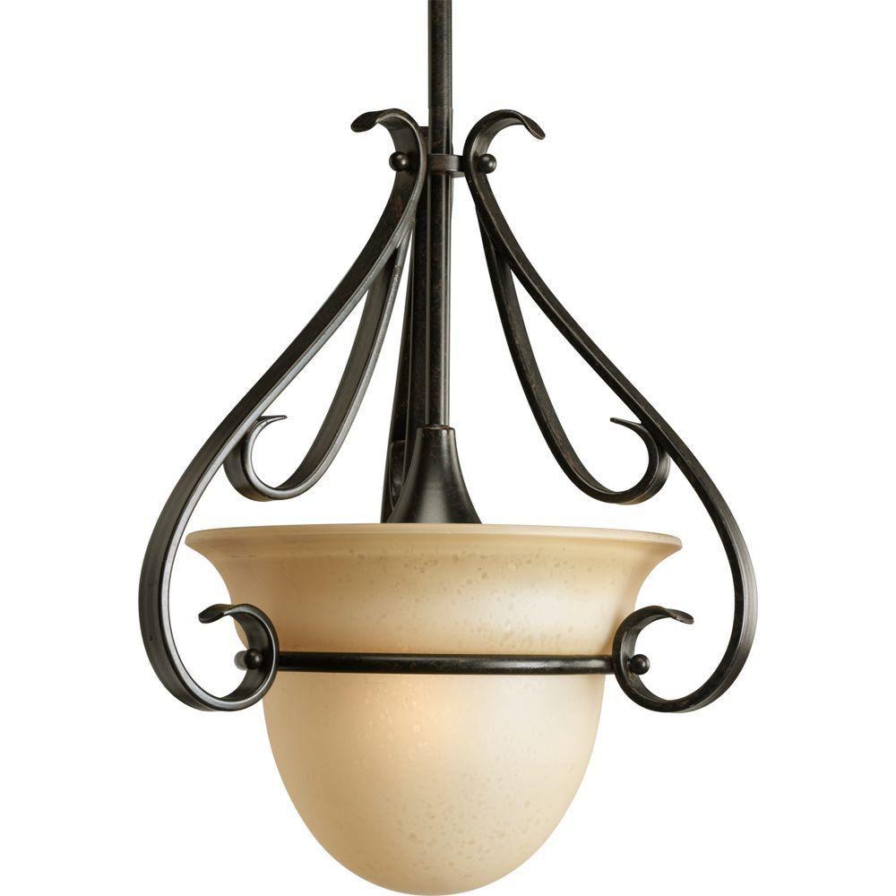 Progress Lighting Torino Collection Forged Bronze 3 Light