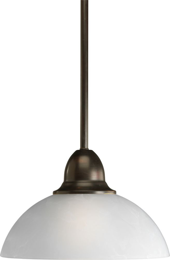 Pavilion Collection Antique Bronze 1-light Mini-Pendant
