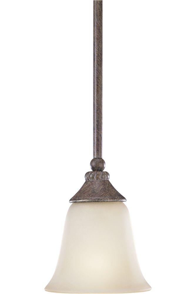 Mini suspension à 1 Lumière, Collection Maison Orleans - fini Pierre de Champ