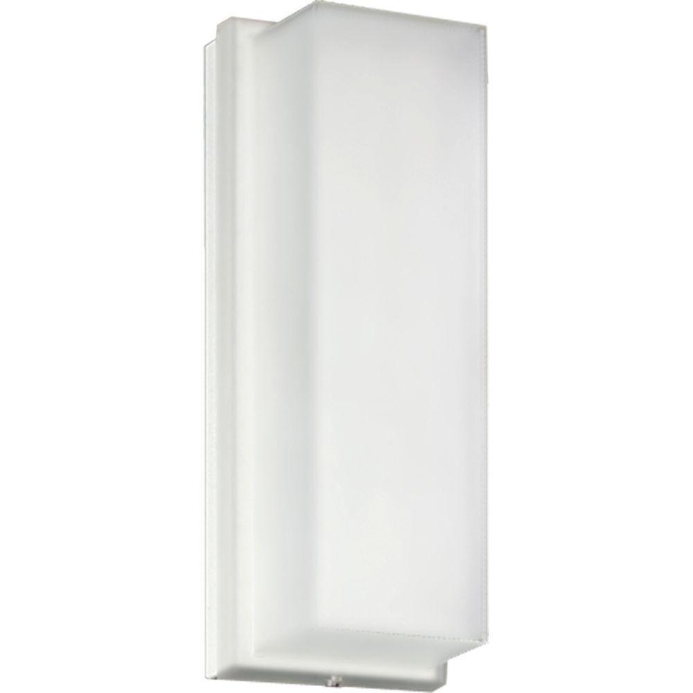 Hard-Nox Collection White 1-light Wall Lantern