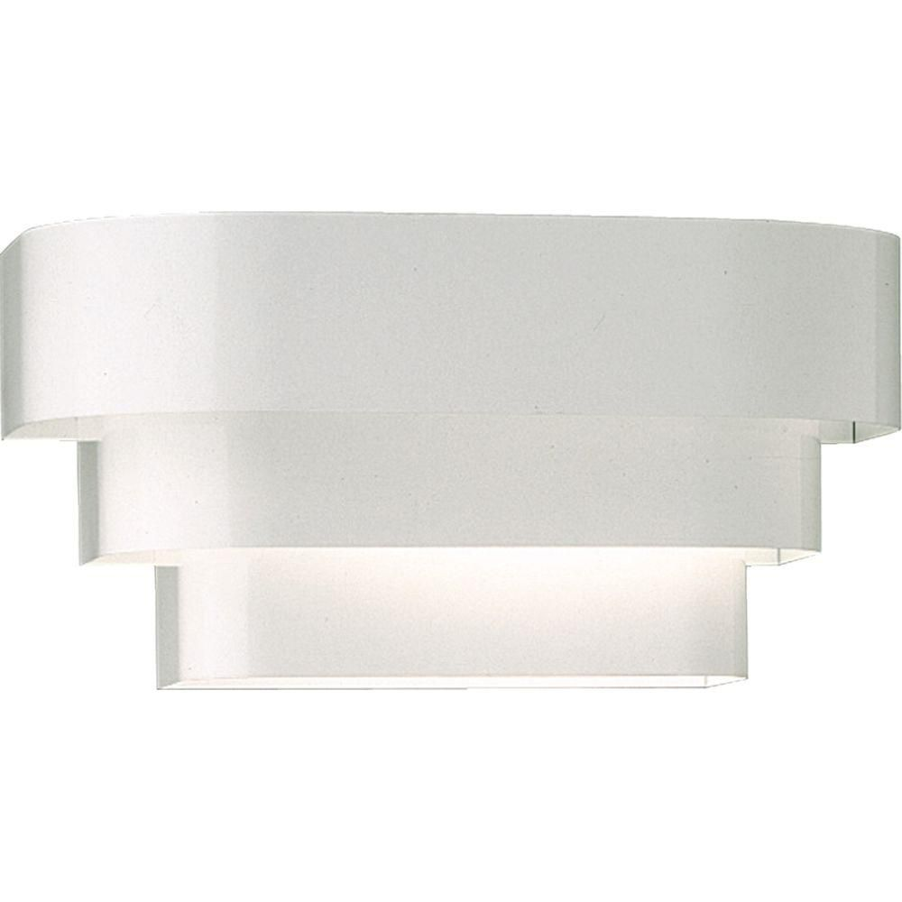 White 1-light Wall Sconce 7.85248E 11 Canada Discount