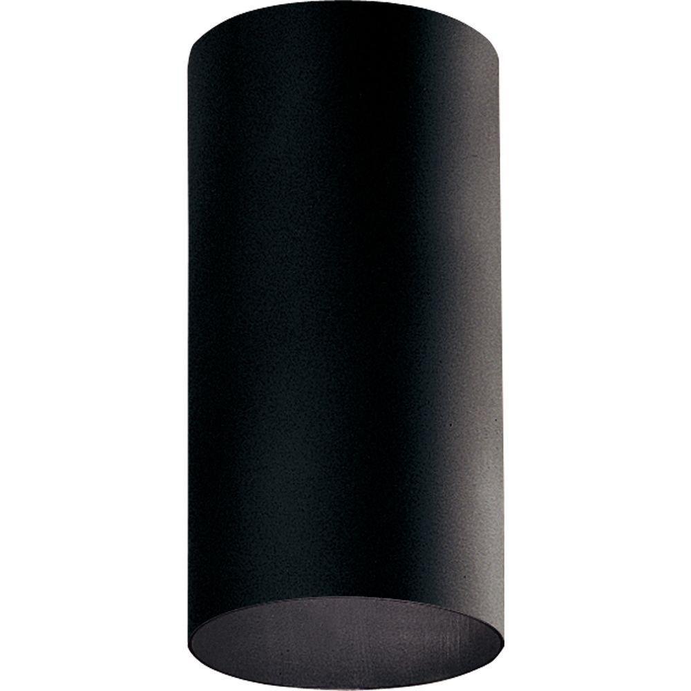 Plafonnier extérieur à 1 Lumière - fini Noir