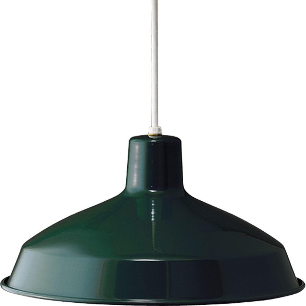 Dark Green 1-light Pendant