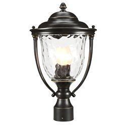 Progress Lighting Lampadaire à 3 Lumières, Collection Prestwick - fini Bronze Lustre