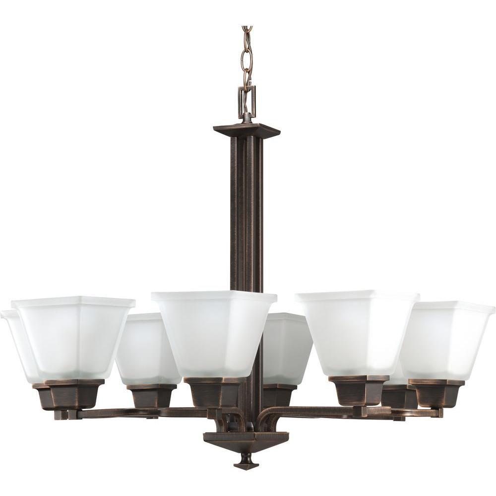 Progress Lighting North Park Collection Venetian Bronze 8-light Chandelier