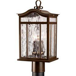 Progress Lighting Meadowlark Collection Oil Rubbed Bronze 3-light Post Lantern
