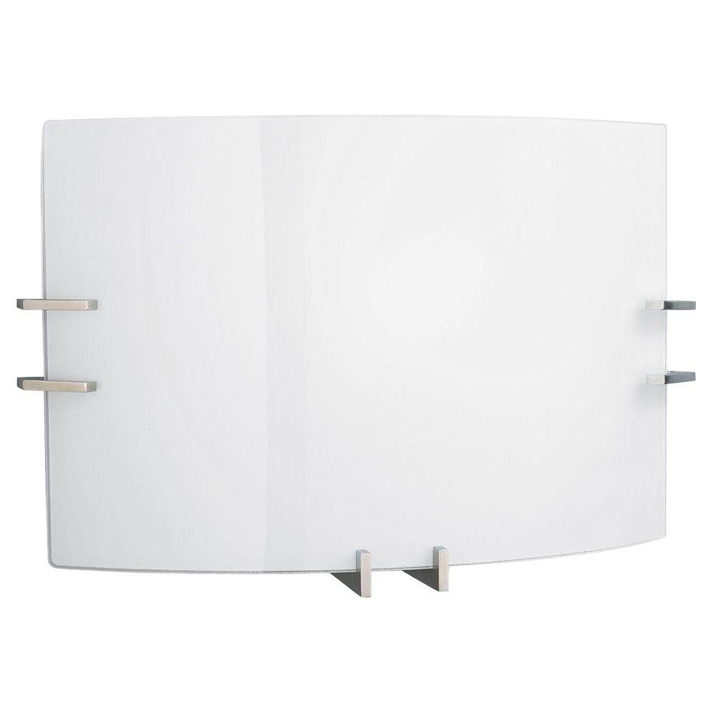 Brushed Nickel 1-light Wall Sconce