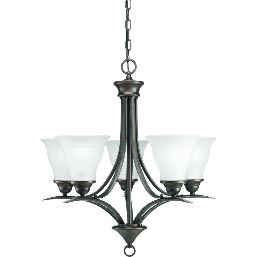 Trinity Collection Antique Bronze 5-light Chandelier