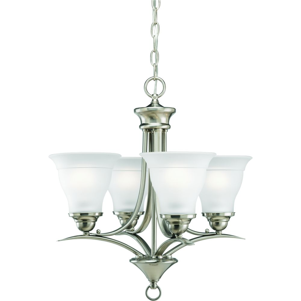 Lighting Collections For Whole House: Progress Lighting Trinity Collection Brushed Nickel 4