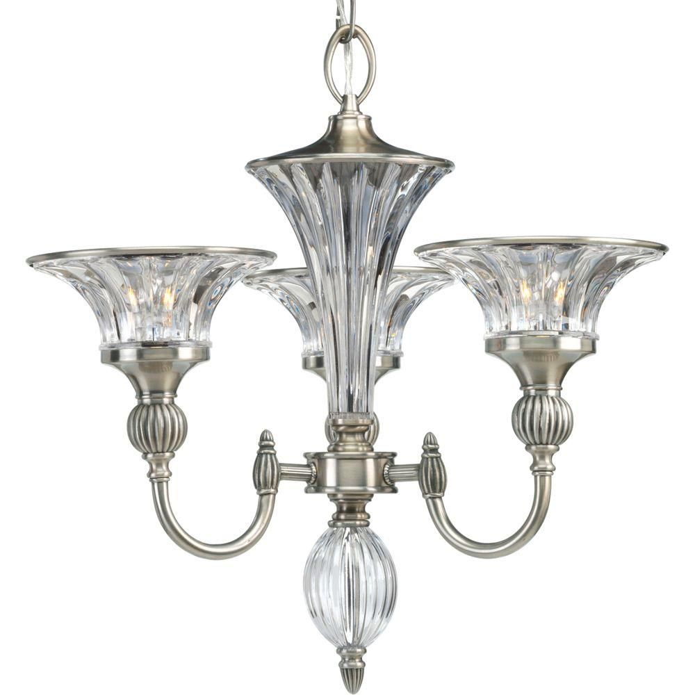 Progress lighting roxbury collection classic silver 3 for Classic home lighting