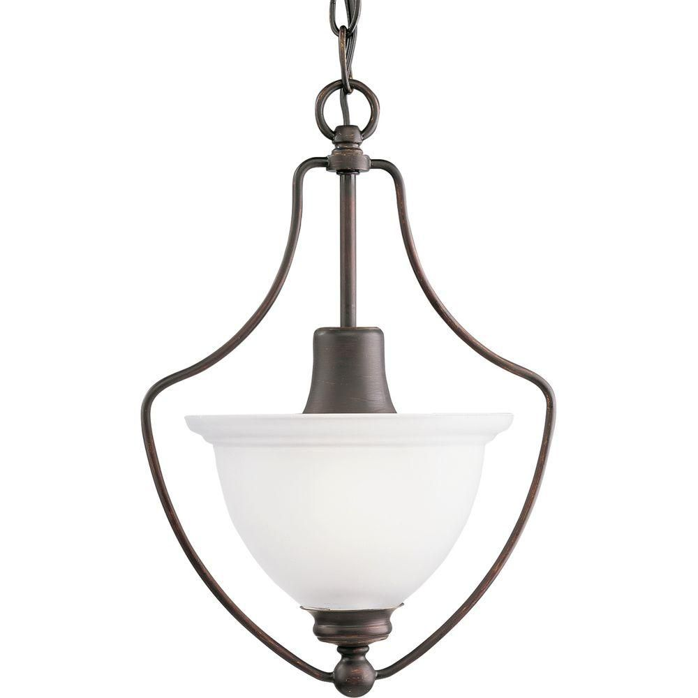 Madison Collection Antique Bronze 1-light Chandelier