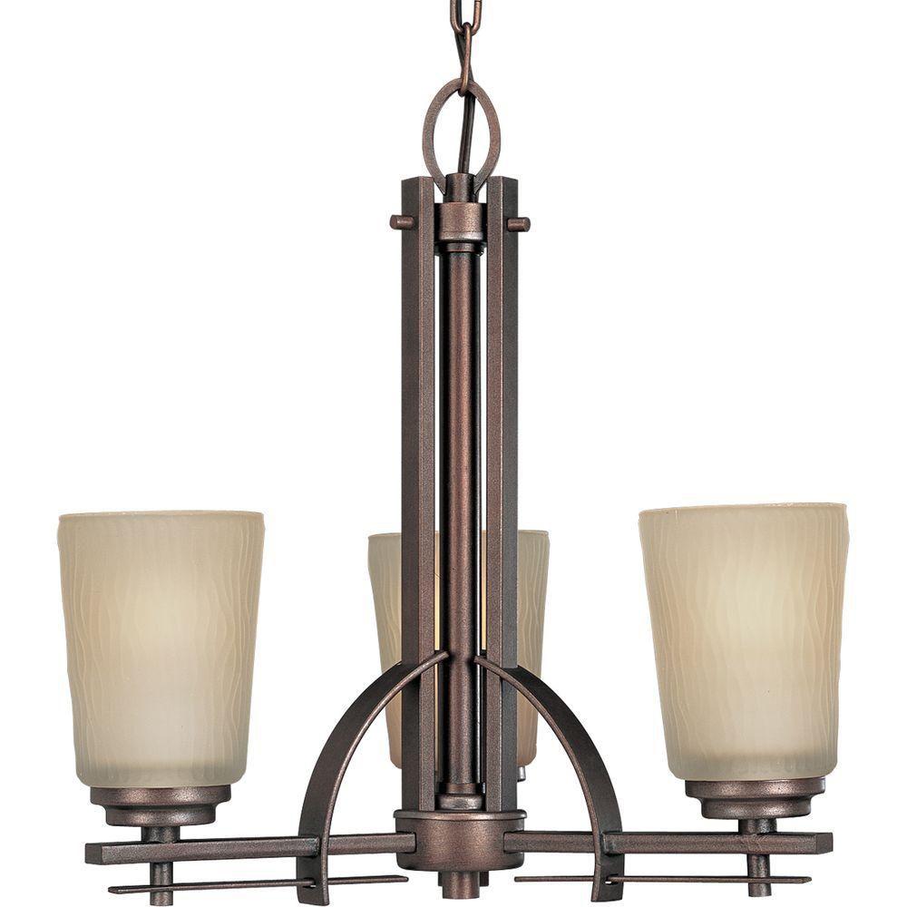 Riverside Collection Heirloom 3-light Chandelier