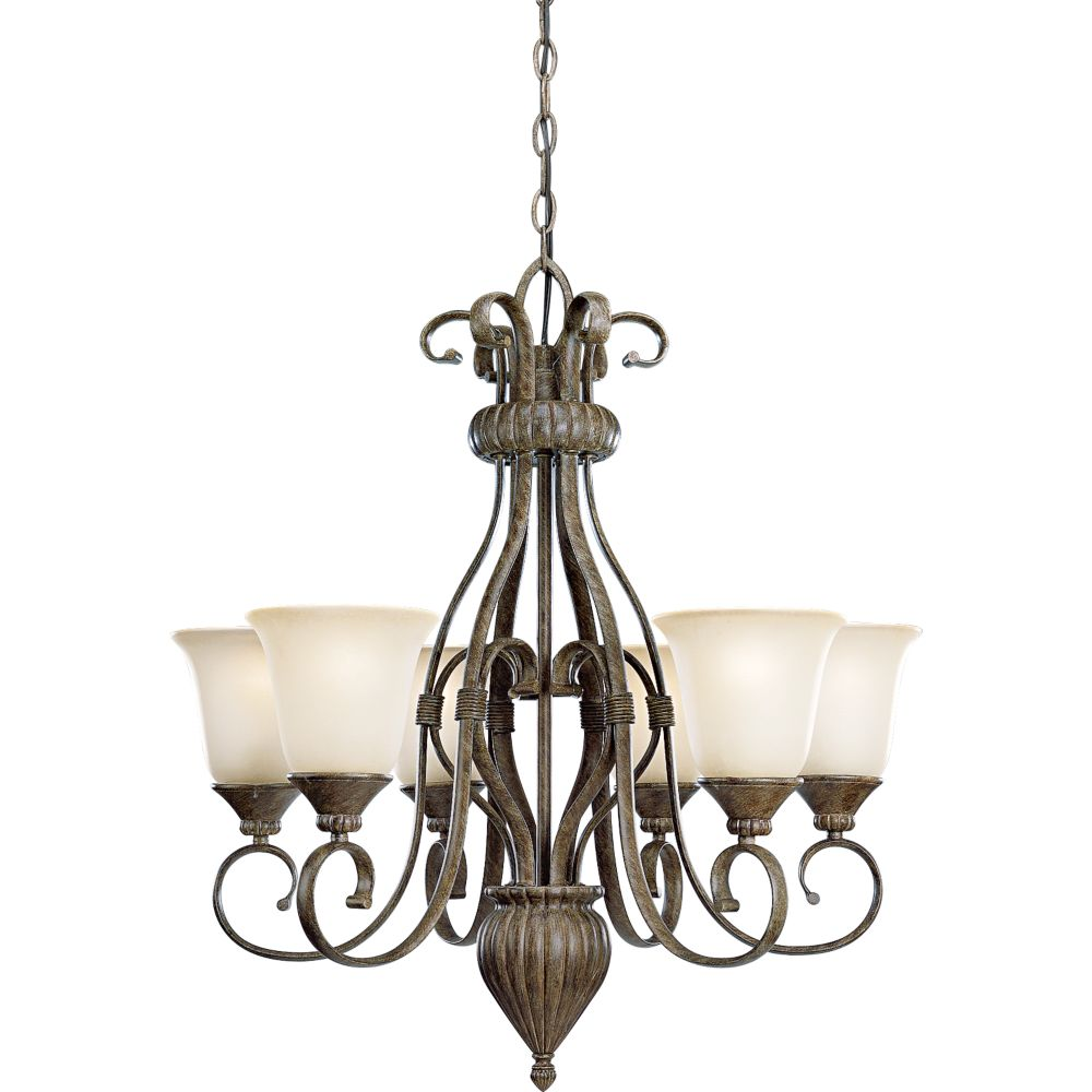 Maison Orleans Collection Fieldstone 6-light Chandelier