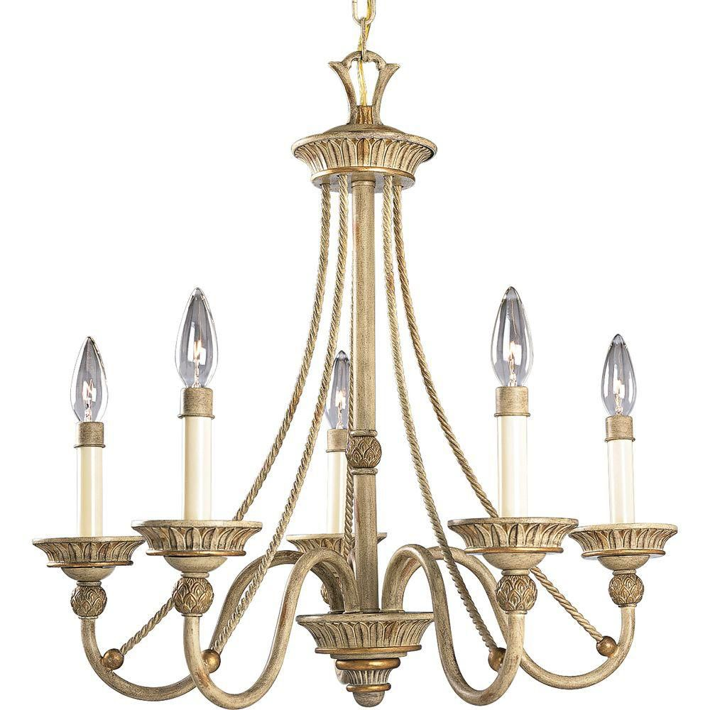 Savannah Collection Seabrook 5-light Chandelier