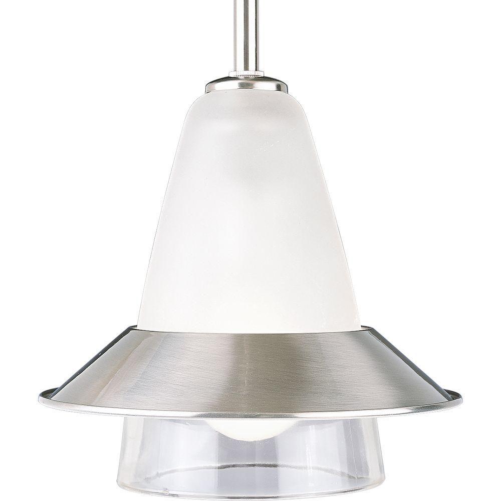 Brushed Nickel 1-light Mini-Pendant