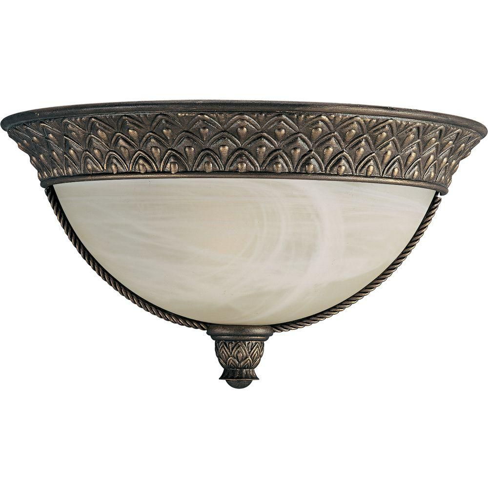 Savannah Collection Burnished Chestnut 1-light Wall Sconce