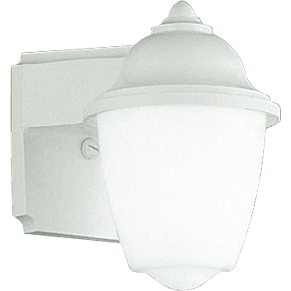 Polycarbonate Collection White 1-light Wall Lantern