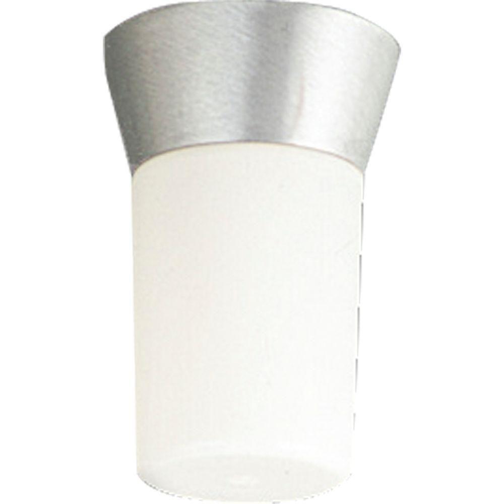 Hard-Nox Collection Satin Aluminum 1-light Wall Lantern