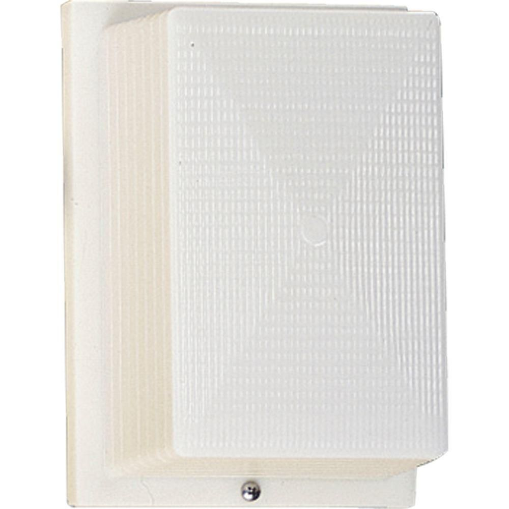 Hard-Nox Collection White 1-light Wall Lantern 7.85248E 11 Canada Discount