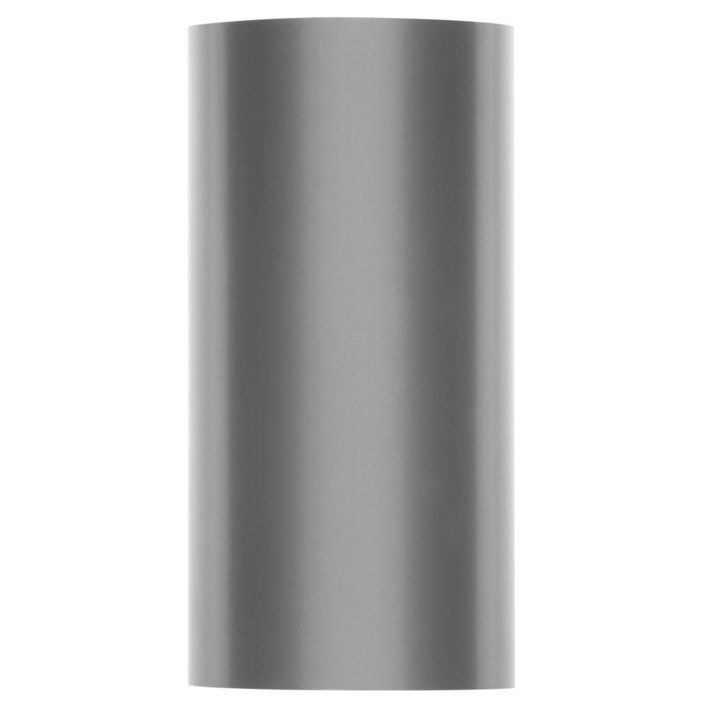 Progress Lighting 1-Light Metallic Grey Outdoor Wall Lantern