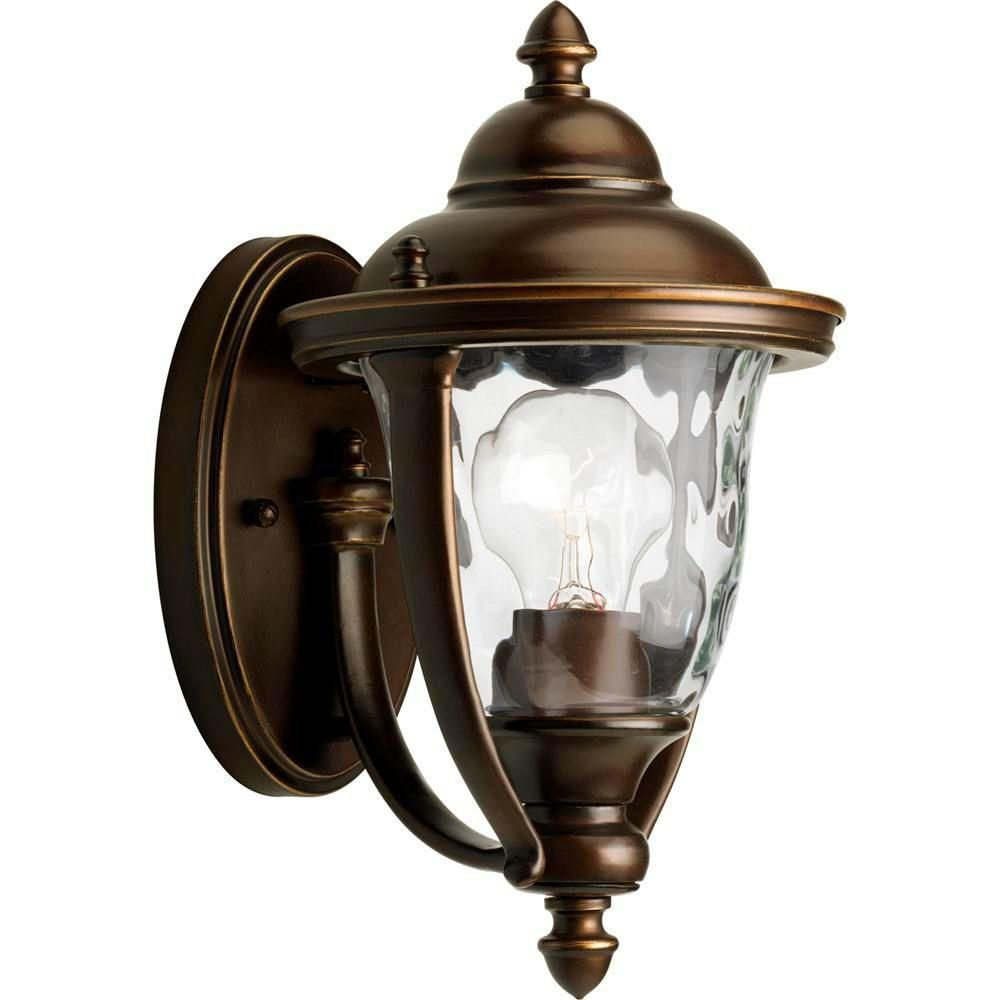 Prestwick Collection Oil Rubbed Bronze 1-light Wall Lantern