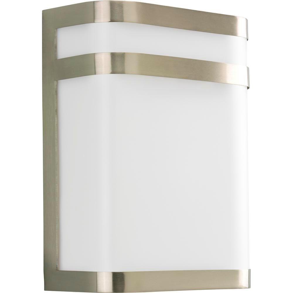 Valera Collection Brushed Nickel 1-light Wall Lantern